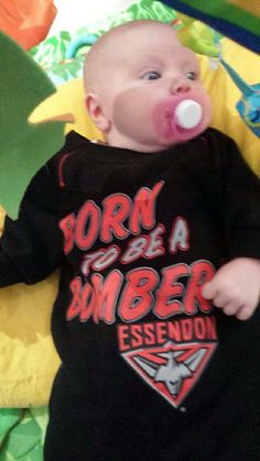 Good work by Jason and Danielle in getting this little one into some Red and Black early on!