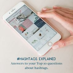 Do you find the whole concept of hashtags mystifying? Wondering if you should even use them? And if so, how to make them effective for your business? All of your hashtag questions are answered here. Small Business Marketing, Social Media Marketing, Instagram Insights, Small Business Resources, Macro And Micro, Types Of Social Media, Cool Tools, Hashtags, Everything