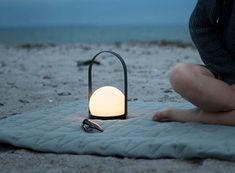 Carrie Portable LED Lamp (available @ Kaufman Mercantile)
