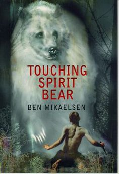 Touching Spirit Bear, Ben Mikaelson. One of the Brunswick 8th Grade Adv. Lang, Arts summer reading books.  After his anger erupts into violence, Cole, in order to avoid going to prison, agrees to participate in a sentencing alternative based on the native American Circle Justice, and he is sent to a remote Alaskan Island where an encounter with a huge Spirit Bear changes his life.