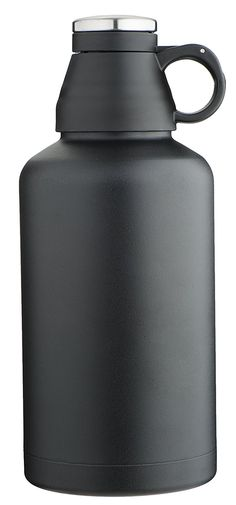 MIRA Beer Growler, Stainless Steel, Insulated (Black) -- To view further for this item, visit the image link.