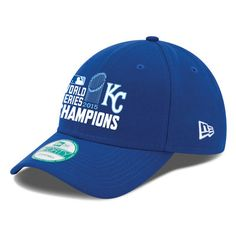 separation shoes ee13f a627a MLB Kansas City Royals New Era Youth 2015 World Series Champions Trophy  9FORTY Adjustable Hat Royal