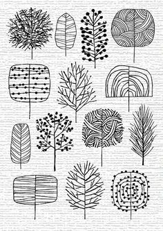 Image result for herfstblad oost-indische inkt