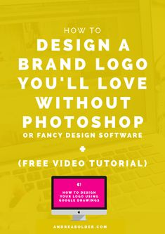 What do you do when you want a professional, high-quality logo for your personal brand, business and infoproducts but are working on a budget? Today's post + video tutorial shows you how! Branding Your Business, Business Tips, Online Business, Corporate Branding, Logo Branding, Brand Identity, Marca Personal, Personal Branding, Personal Logo