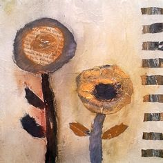 "Sally MacCabe ""two flowers"