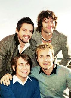 Take That ...as a foursome #TT4   http://catysthatter.tumblr.com/post/54051637808/the-great-return