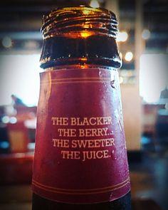 Hard day's reward is #berry good @mckenzieshardcider #blackcherry #cider #booze #alcohol #5napkinburger #NYC #foodie
