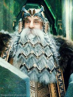 thearkenstone-ck: Thror -King Under The Mountain- Legolas, Gandalf, Thranduil, Hobbit Cosplay, Hobbit Book, The Hobbit Movies, Tolkien Books, J. R. R. Tolkien, Bilbo Baggins