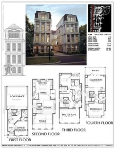 Townhome Plan D9132 LOTS 1-4