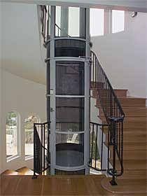 Indoor ideas for new house on pinterest elevator slide for Indoor elevator