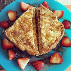 light egg white french toast