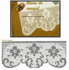 Filet Crochet, Embroidery, Pattern, Crafts, Decor, Crochet Shorts, Craft, Hemline, Yellow