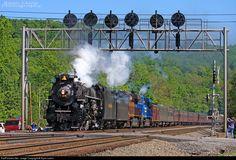 RailPictures.Net Photo: NKP 765 Nickel Plate Road Steam 2-8-4 at Fostoria, Pennsylvania by Ryan Lewis