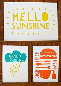 Pepper and Buttons Card design including type. Type inspiration for my own Cards to sell, including the simplicity of the cards.