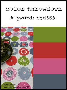 Color Throwdown: Color Throwdown #368
