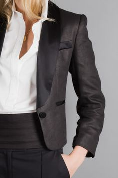 Sign me up for the ball. I love this tux jacket by EmersonMade.