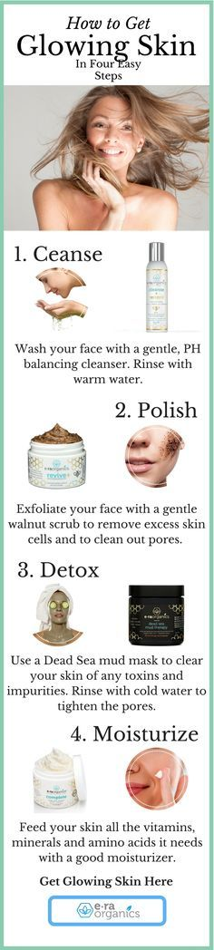 Need help getting glowing skin? No need to search for the right products anymore. We've laid out the perfect skincare system that will help you achieve your skin goals.  Era Organics Face Cream, Cleanser, Microdermabrasion Scrub and Dead Sea Mud Mask. All are Natural and made for dry, oily, damaged skin, anti aging and reduces wrinkles, acne and scars. Ingredients include Aloe Vera, Shea Butter, Manuka Honey, Cocoa Butter, Coconut Oil, Walnut etc.  Paraben Free and balanced 5.5 PH,