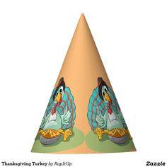Thanksgiving Turkey Party Hat