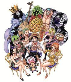 One piece -inédit - (Makie-Sama~) Anime Echii, Manga Anime One Piece, One Piece Fanart, Anime Comics, Manga Art, One Piece Crew, Nami One Piece, One Piece Pictures, One Piece Images