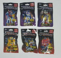 6 prexiolimited Hasbro Transformers Limited Edition Mini figurine série complète