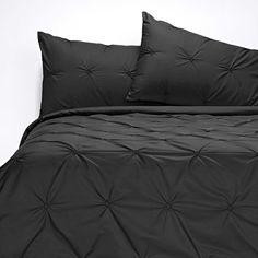Altamont Quilt Cover Set Black from Domayne