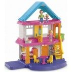 Casinha de Bonecas com Família de Bonequinhos Fisher-Price My First Dollhouse