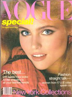 1980 Vogue Fashion Magazine Patti LuPone Diane Von Furstenberg Gia Carangi Catherine Oxenberg Henri Cartier-Bresson Wines Vintage 1980s by Gr8magzMagazines on Etsy