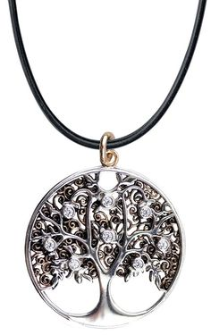 LuxXL by ECHT - Tree of Life Pendant - Silberschmuck Premium - Sterling Silver - K2102-2