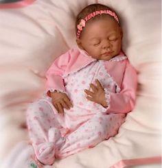 OOAK Reborn baby girl with ashton drake Beyonce Silicone  art doll  newborn