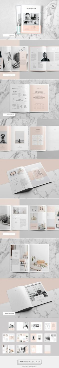 INK Portfolio/Brochure is a 24 page fully customizable Adobe Indesign layout template. INK is a really beautifully designed collage based layout, ideal for mood Layout Design, Graphisches Design, Logo Design, Graphic Design Layouts, Typography Design, Interior Design, Design Editorial, Editorial Layout, Cv Inspiration