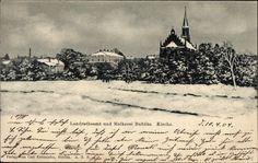 Landrathsamt und Molkerei Bublitz im Winter