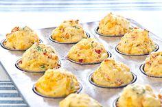 Muffins au pain de maïs et tomates séchées