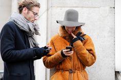 Paris – Street Life.  #PFW, #Fashion, #France, #FW15, #Jacket, #Man, #Men, #Menswear, #Moda, #Mode, #Paris, #Street, #Style, #Woman, #Women  Photo © Wayne Tippetts