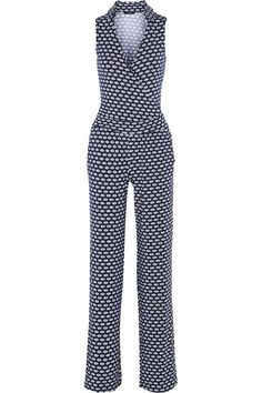 Tart Kenna wrap-effect printed modal-blend jumpsuit All Fashion, Fashion Outfits, Womens Fashion, Plus Size Fashion, Clothes For Sale, Clothes For Women, Discount Designer Clothes, Sewing Clothes, Cool Outfits