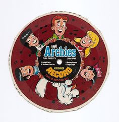 Post Cereal Box Record - The Archies. Who remembers clipping the records from the back of the cereal boxes?