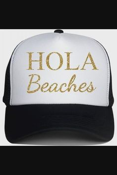Shop Trucker Hats for Adult HOLA Beaches Logo Print Snapback Summer Mesh Caps - Black now save up 50% off, free shipping worldwide and free gift, Support wholesale quotation! Cool Baseball Caps, Beach Logo, Mesh Cap, Trucker Hats, Quotation, Free Gifts, Snapback, Beaches, Free Shipping
