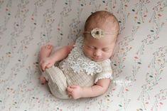 Newborn Lace Romper; Newborn Girl Romper; Newborn Romper Prop; Beige; Newborn Outfit; Baby Girl Romper; Lace Romper; Newborn Photo Prop