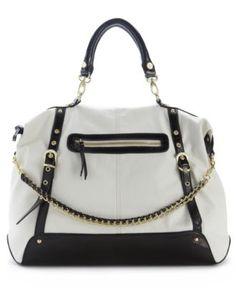 Steve Madden Handbag, Bgizelle Satchel - Steve Madden