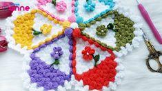 Crochet Necklace, Symbols, Anne, Crochet Collar, Icons