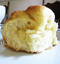 Buttery Bread Machine Rolls:        1 cup warm milk  1/2 cup butter, softened  1/4 cup sugar  2 eggs  1 1/2 teaspoons salt  4 cups bread flour  2 1/4 teaspoons active dry yeast      In bread machine pan, place all ingredients in order suggested by manufacturer. Select dough setting. When cycle has completed, turn dough onto a lightly floured surface. Divide dough into 24 equal portions; shape into balls. Place in a greased 9 x 13-inch baking pan. Cover and let rise in a warm place for one ho...