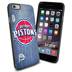 """Detroit Pistons Logo Jeans iPhone 6 4.7"""" Case Cover Protector for iPhone 6 TPU Rubber Case SHUMMA http://www.amazon.com/dp/B00VQLJ080/ref=cm_sw_r_pi_dp_tyYovb03SB42T"""