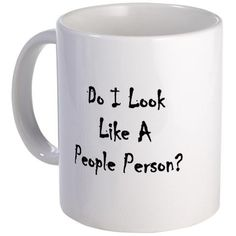 Definitely not before I've had my coffee!