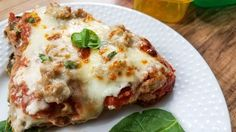 If you're looking for a healthier lasagna recipe, this easy Instant Pot Recipe is the one for you! It's also 21 Day Fix | Clean Eating friendly!
