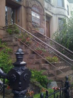 Stoop in Park Slope (Brooklyn)
