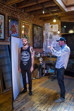Under My Thumb's Homey Tattoo Studio — Creative Workspace Tour Tattoo Shop Decor, Tatto Shop, Thumb Tattoos, Forearm Tattoos, Tiger Head Tattoo, Tattoo Studio Interior, Tattoo Station, Leg Sleeve Tattoo, Tattoo Parlors