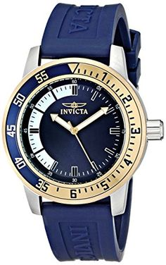 $45   Invicta Men's 12847 Specialty Stainless Steel Watch with Blue Band Invicta