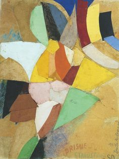 "bal-bullier: "" Prisme solaire simultané. Sonia Delaunay (1914). """
