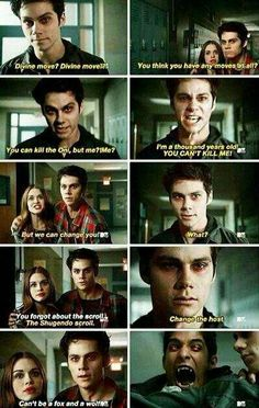 My favorite teen wolf scene!!! I love