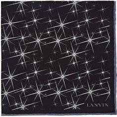 Mens Star-Motif Silk Cr V05wgh7JNG