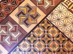japanese wood mosaic work - Google Search